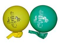 Jungle Birthday Supplies theme Printed Balloons