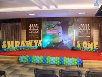 Peacock theme Stage Decor