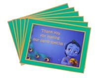 Thank you cards - Little Krishna