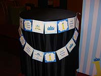 Little Prince theme Birthday Banner/Bunting