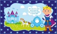 Little Prince theme Confident prince backdrop
