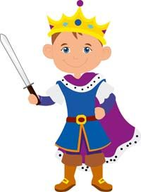 Prince with sword - Little Prince
