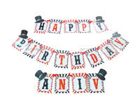 Magician Birthday theme Happy Birthday Bunting