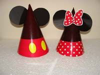 Mickey Minnie Birthday theme Hats