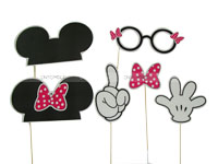 Mickey Minnie theme Mickey Minnie Photo Props