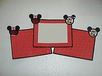 Mickey Minnie theme Photo Frame
