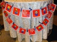 Happy Birthday Banners - Nursery Rhymes Theme Party