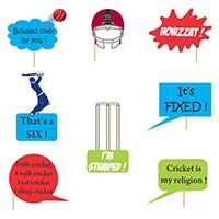Photo Shoot theme Cricket Photo Prop (8 piece set)
