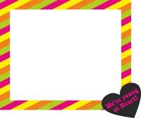 Photo Shoot theme Neon Photo Frame