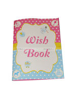 Pink & Blue  theme Wish book