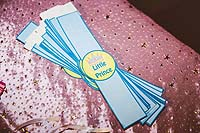 Princess theme Blue wristbands