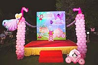 Stage Decor - Princess Theme Birthday Party Decoration Supplies