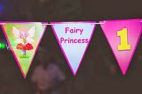 Princess theme Fairy princess bunting