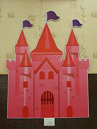 Princess theme Pink castle