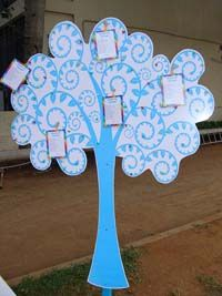 Rainbow theme Wish Tree