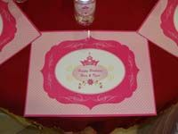 Placemats - Royal Princess Theme Party