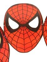 Superhero theme Spiderman masks (Pack of 10)