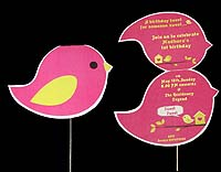 Tweety theme Custom invitations