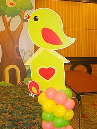 Tweety theme Yellow bird