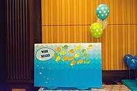 Underwater birthday theme Wish Tree