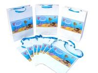 Underwater birthday theme Stickered gift bags