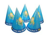 Underwater birthday theme Mermaid hats