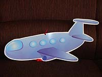 Vehicles birthday theme Aeroplane poster
