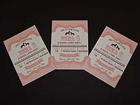 Vintage Pony theme Rectangular Invitations