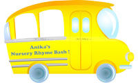Photo Booth - Wheels on a bus birthday party supplies | School Bus theme