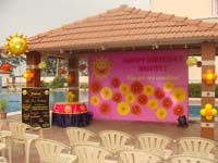 My Sunshine theme Stage Decor