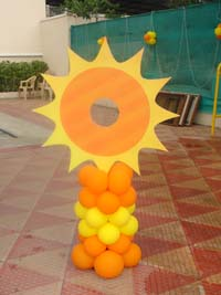Photo Booth - You are my Sunshine theme birthday party supplies