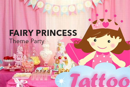 Fairy Princess birthday decor
