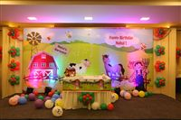 Sudhakar : This is S.Sapna mother of S.Nahul, we have ordered and recieved the barnyard theme backdrop, welcome board and photo booth. the work done given by you is awesome. Im here to thank you for all the work on time with excellent outcome everyone in function was very surprised and enjoyed to see the backdrop thanks a ton. with this email i have shared few pics. please check and let me know if u want more pics of the theme. thank you once again with heart felted.