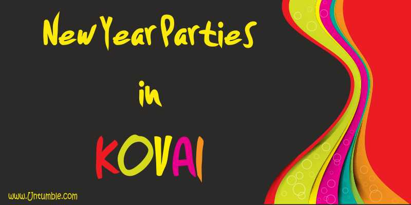 New year 2017 parties in Coimbatore