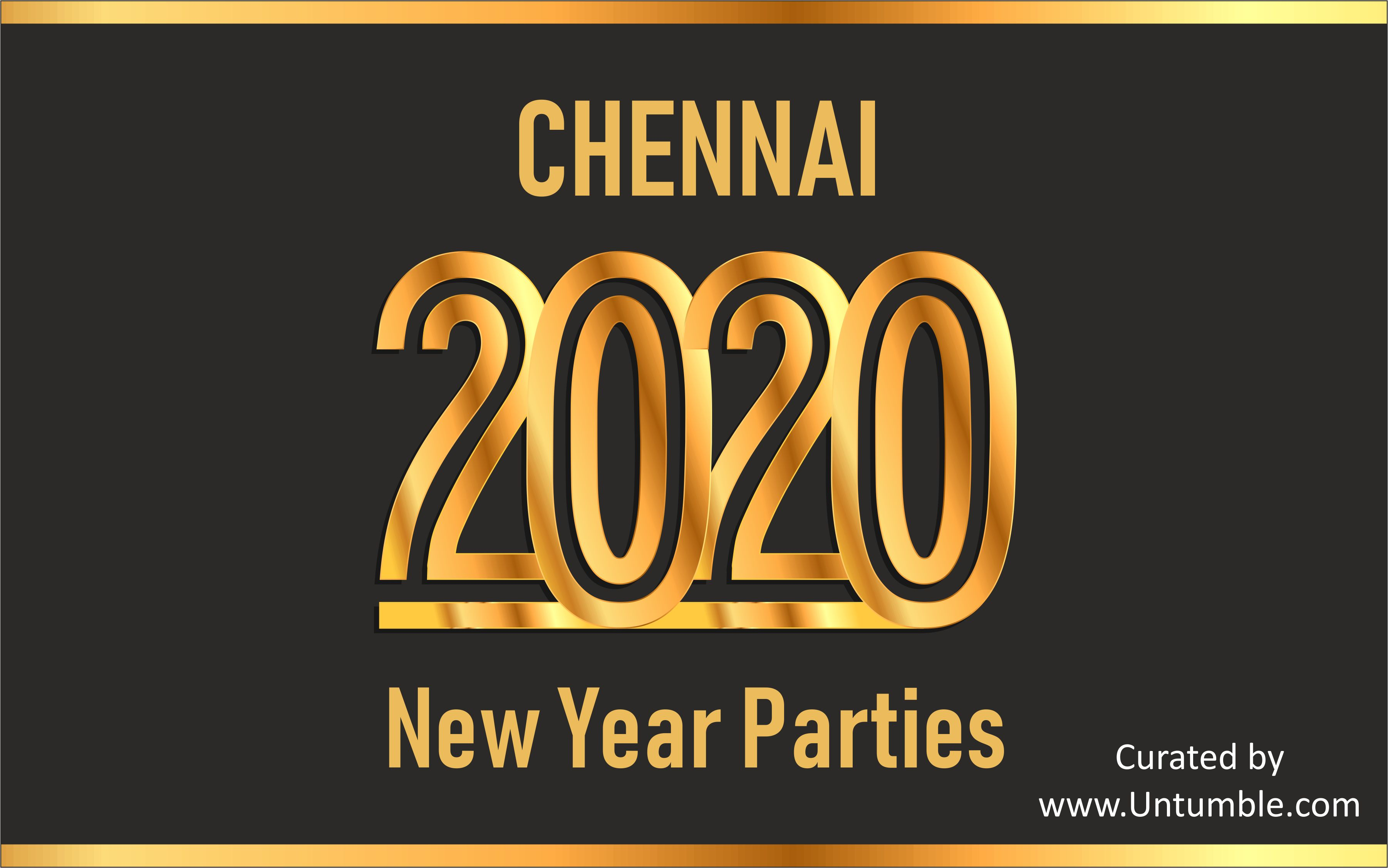 List of New Year 2020 Parties & Events in Chennai