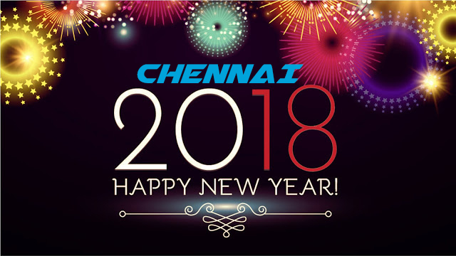List of New Year 2018 Parties & Events in Chennai