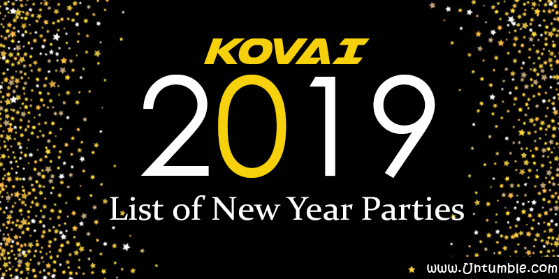 List of New Year 2019 Parties/Events in Coimbatore