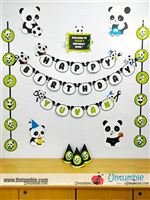 Panda theme party pack available at 999/- for house parties