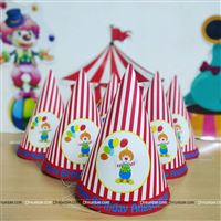 Circus carnival theme party supplies for your child