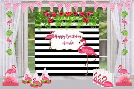 Flamingo Photo Booth Frame