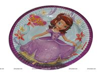 Birthday Party Plates - Sofia Princess Birthday Party Supplies
