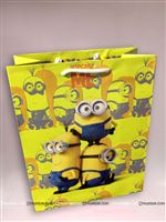 Minion theme  - MINION 2 PAPER BAG SMALL