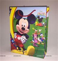 Pre Printed Gift Bags - Mickey & Minnie Theme Birthday Party Supplies