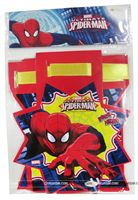Happy Birthday Banners - Superhero theme party supplies