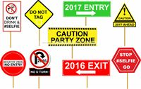Party Supplies theme New Year 2017 Photo Props