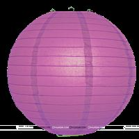 12Inch Purple Paper Lanterns