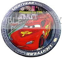 Birthday Party Plates - Disney Cars theme party supplies