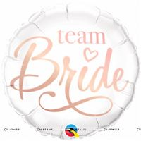 "Team Bride Foil Balloon (18"")"
