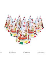 Happy Birthday Party Hats (Pack of 10)