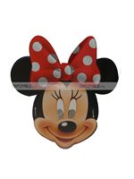 Mickey Minnie theme Minnie Face Mask